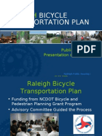 Raleigh Bike Transportation Plan