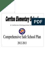cerritos elementary safe school plan 11 13 12