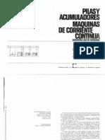 Pilas y Acumuladores Maquinas de CC - José Ramirez Vasquez - CEAC