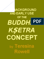 the Background and Early Use of the Buddha Ksetra Concept