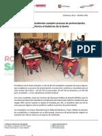 06-03-13 Boletin 1456 Más de 80 mil estudiantes cumplen proceso de preinscripción, informa el Gobierno de la Gente