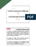 2ª Aula - Teoria Atômico Molecular e Distribuição Eletrônica.pdf