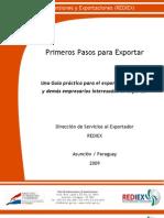 Edicion Completa - Primeros Pasos Para Exportar REDIEX 2009