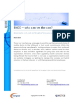BYOD - who carries the can?