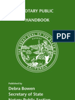 Notary Handbook 2008