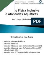 Natação Inclusiva e Atividades Aquáticas