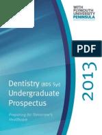 Plymouth Dentistry Prospectus