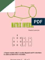 Matrix InverseGUASS