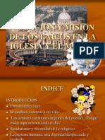 Cap III - Vocacion y Mision de Los Laicos