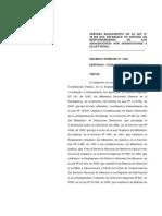 Reglamento de La Ley 20.084 DS 1378