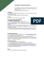Regulamento Crônica - Semana do Policial Adepol-AM