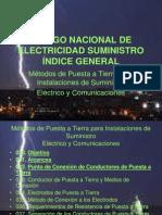CÓDIGO NACIONAL DE ELECTRICIDAD SUMINISTRO