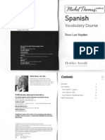 Michel Thomas Spanish Method Vocabulary Course