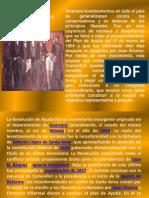 El Plan de Ayutla y La Constitucion de 1857