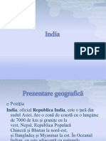 India Proiect geografie