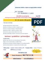 Seminar Da u Vrticu Svako Uci Radosno i Lako POSTER