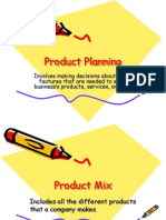 Product Mix