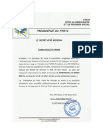 UDPS Press Release 2013 March 04