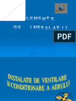 Instalatii de ventilare