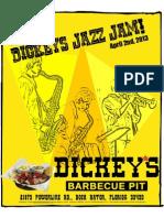 Dickey's Jazz Jam - April 2, 2013
