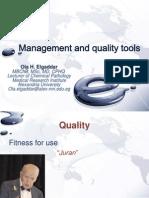 Management and Quality Tools, Ola Elgaddar, 2013