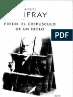 Freud El Crepusculo de Un Idolo Onfray