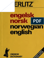Engels k Norsk Norsk Ord Bok