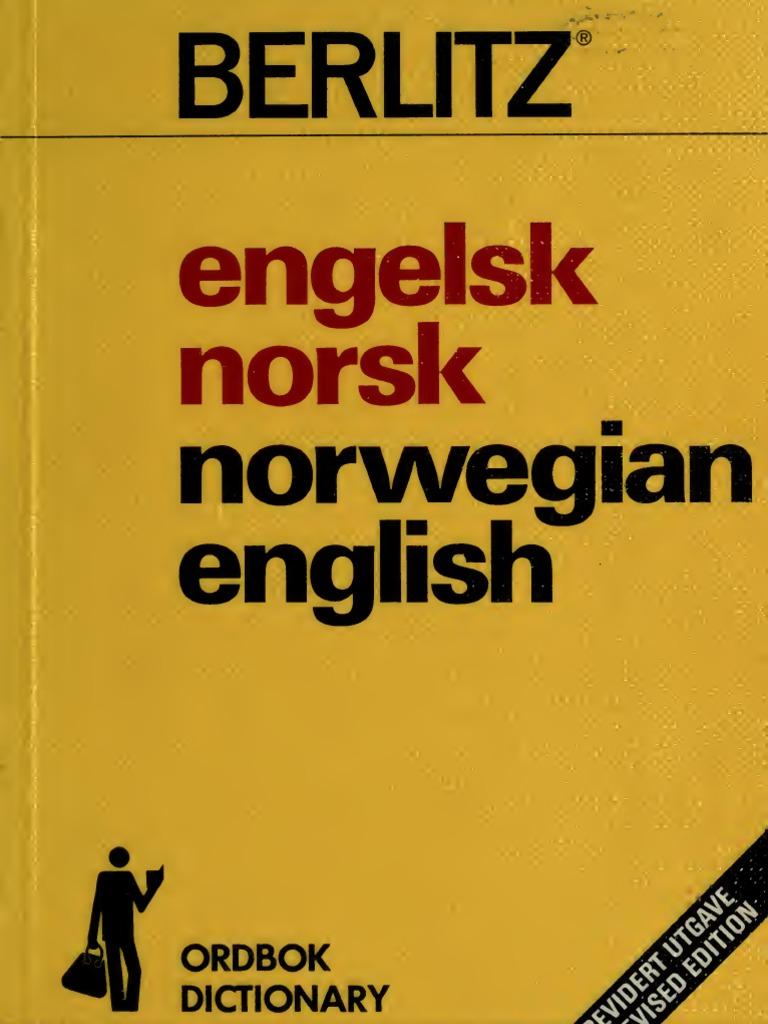 873b117d1c42 Engels k Norsk Norsk Ord Bok