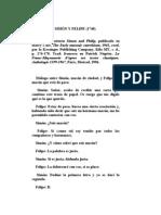Antiguos Documentos - Dialogo Entre Simon y Felipe