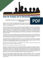 Manifiesto Apoyo Revolucionciudadana