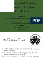 2011KOERBER Recommended Practices-Flexible Duct RE NE