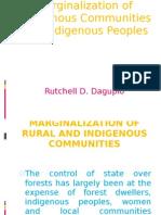 Marginalization communities indigenous people