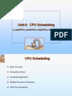 1.CPU Scheduling