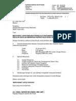 Contoh Surat Panggil Mesyuarat 2013