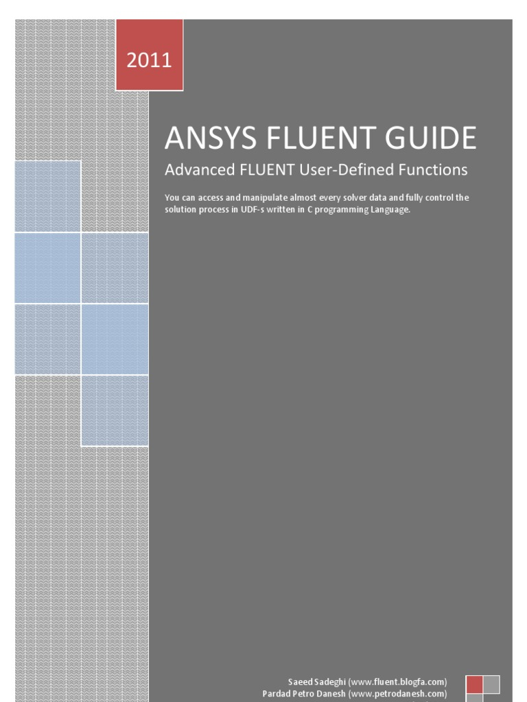 Fluent UDF Training-2 | C (Programming Language) | Pointer (Computer  Programming)