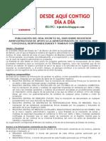 Nota Informativa Real Decreto Registros Administrativos