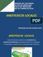 Anestesicos Locales Fady