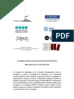 Agenda Anticorrupción para Argentina diseñada por organizaciones de la sociedad civil