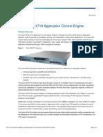 Data Sheet Cisco ACE 4710