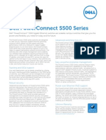 Dell PowerConnect 5500 Series Spec Sheet February 2012[1]