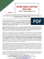 Hoja Informativa Funcionarios en Practicas Retribuciones Complement Arias