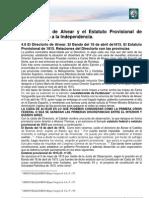 11- El Directorio de Alvear y El Estatuto Provisional de 1815- Camino a La Independencia. Modulo 03