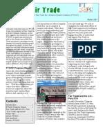 FTGOC newsletter Vol 1 Issue 1