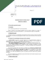 Exemple de Cahier Des Charges
