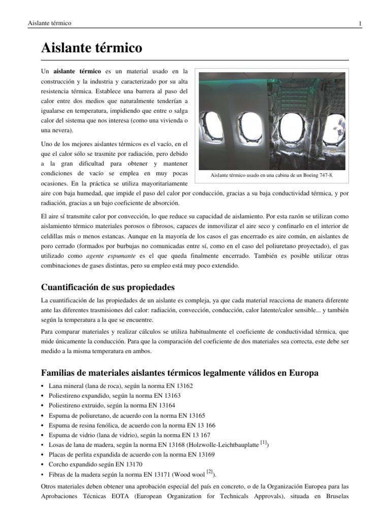 Materiales aislantes termicos good lunchera lunares - Tipos de aislantes termicos ...