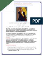 Bibliografia Del Dr Jamil Mahuad