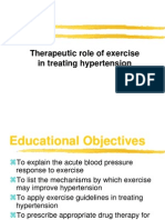 Lifestyle changes for prevention of hypertension.