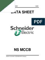 Schneider NS MCCB