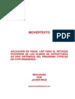 CYPE Rutina Lisp Arreglar Planos
