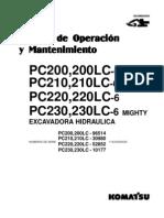 Manual PC200 6